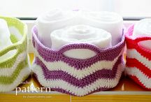 Crochet - Containers / Crochet goes-intos!