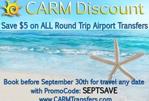 CARM: Who We Are / Since 1999, CARM, short for Cancun And Riviera Maya, has been your on-site specialist for all your excursion & transportation needs. We are available everyday to help you plan your vacation. Whether you want to see Mayan ruins, fly above the jungle on zip lines or snorkel on the 2nd largest reef, we are here to provide you with suggestions & information. We specialize in complicated transfers & transportation to the Isla Mujeres Ultramar ferry dock. We love living in Cancun!