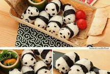 Panda Onigiris / Panda Onigiris