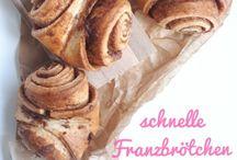 Brot und Brötchen Rezepte / Hier findet ihr alles zu Brot und Brötchen! Ob Schrippe, Franzbrötchen oder Vollkornbrot; Hier kommt frisch gebackenes auf den Tisch- alles schnell und einfach!