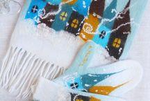 шарф+варежки