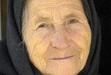yaşlı insan portresi