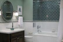 Salles de bain | baths / Idées, inspiration et décoration sur les salles de bain, douches, baignoires... | anything inspiring about baths decor (shower, bathtub, tile...) and bathroom organization