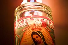 A Prayer Candle / Devotional candles are a long standing tradition in the Catholic Church. Religious candles are a symbol of our prayers and the light of Jesus Christ.