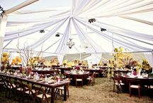 Big Day: Tent and Outdoor Ideas