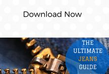 Finding The Perfect Pair Of Jeans / Would you like to know which brands of jeans suit your shape? Download our guide now!