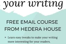 Writing & Copy Tips / Tips to improve writing and copywriting skills, editing content, creating efficient web pages, and more