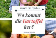 Kartoffel / Kartoffeln sind der Rohstoff für beste Knödel. Hier sammeln wir Wissenswertes über die Kartoffel und das ein oder andere Rezept mit Kartoffeln.