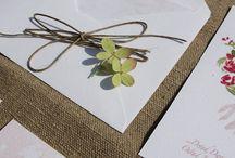 Hello Love Zaproszenia Ślubne / Moja tablica jest o ręcznie malowanych zaproszeniach ślubnych