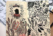 Art Journal / Sketchbooks Pages