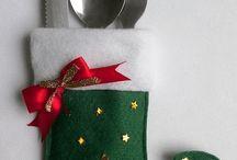 cubierteros navidad