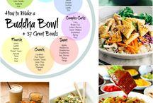 healthy food and menus