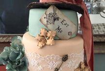 Cake - Alice in Wonderland