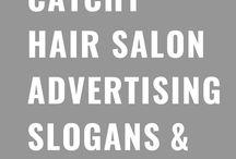 Catchy Hair Salon Advertising Slogans