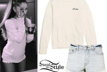 Ariana's outfits (not my edit)