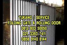 TUKANG SERVIS FOLDING GATE HARMONIKA PANGGILAN MURAH-081585181961