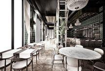 BISTRO RESTAURANT / Type: Conceptual // Restaurant Size: 600 sqm // Location: Dnepropetrovsk // Ukraine  Year: 2013