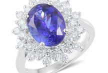 Tanzanite - December's exceptionally beautiful birthstone / Tanzanite is one of December's luxurious birthstones, and it's fitting especially as we have loads to celebrate this month. Indulge in this stunning and increasingly rare gem now and throughout the year... just take a look!