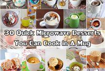 Microwave cooking...