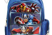 Morrales Avengers / Línea Morrales P.bags Primavera Regresa a Clases con TODO