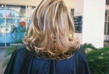 여자중간머리