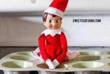 Elf on shelf / by NathanandCeleste Molsbee