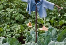 Garden - scarecrow ideas