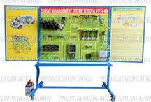 Trainer Engine Management System Toyota Avanza VVT-i / Trainer Engine Management System Toyota Avanza VVT-i