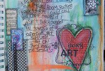 Art Journaling Goodness / by Lara Benefield