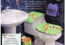 juego de baño foami