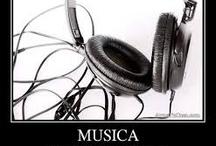 Música y frases bonitas / Es un tablero sobre música