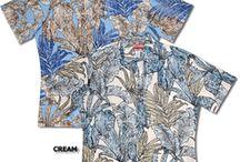 Reverse print Aloha Shirts