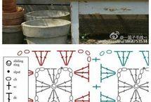 cojín cuadros figura geométrica