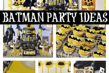 Batman birthday parties