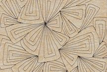 Zentangles / Zentangles patterns that can be used for free motion quilting.