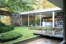 Mid Century Modern / 20th C Architecture and furniture