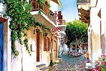 Akdeniz sokakları