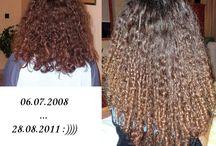 My curly hair...