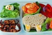Exciting Lunch Box Ideas / Kids tired of the same old thing in their lunch boxes? Try some of these.