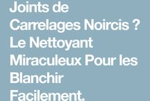 Astuces nettoyages