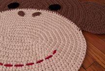 Hæklet tæpper og gulv tæpper