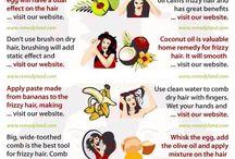 Frizzy hair help