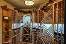 Wine Rooms and Wine Storage / Looking for an elegant to display and store your wine? Take a look at some of the creative offerings from Finished Basement Company.
