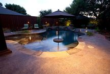 Pools: Freeform Design by Outdoor Signature / Here is a collection of custom and/or remodeled pools for residential properties by Outdoor Signature in Argyle, Texas.