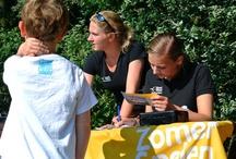 MooiWeer Zomerspelen Terschelling  / Jaarlijks terugekerend openbaar evenement op Terschelling tijdens de zomer vakantie met activiteiten voor jong & oud