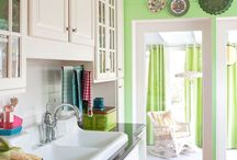 Beachy Kitchen Inspirations / The Kitchen is the heart of the home