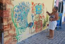 Paintings, Murals & Vistas at Las Palmas