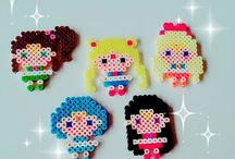 Hama Sailor Moon Perler Beads