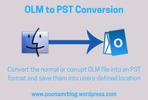Conversion of OLM to PST