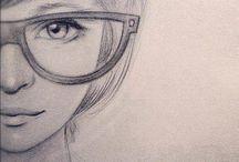 how to draw / uma pasta para quem quer uma ajudinha para desenhar ou uma inspiração talvez
